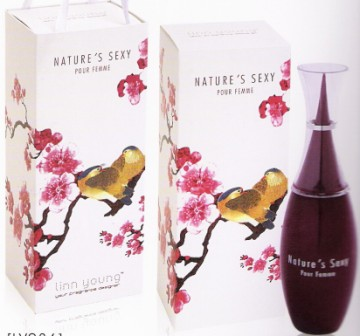 44NLY036 EDT NATURES SEXY POUR FEMME WOMEN 100ml