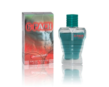 EDP 100ml  STREET LOOKS 6 PACK MAN