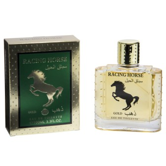 44RT151  EDT 100ml Racing Horse Gold