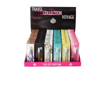 44RTM-D23  EDP 10ml Travel Collection in Display 72 pcs