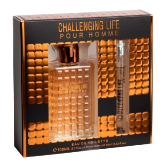 44RT-S153  EDT 100ml+10ml Challenging Life