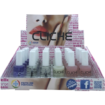 49C00  VERNIZ CLICHE NAIL CARE 11ML TRAY 24 UND  SORT 0