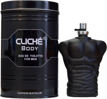 50BC100  EDT HOMEN BODY CLICHE 100ML