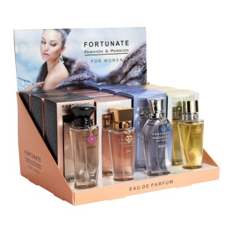 44FO-D02  EDP 50ml Fortunate Fashion & Passion for women 12 pcs