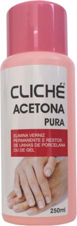 49007  ACETONA PURA 250ML CLICHE 6 UND